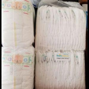 79 Newborn Pamper Diapers